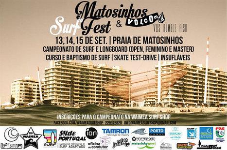Matosinhos Surf Fest no próximo mês   Matosinhos   Scoop.it