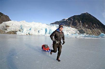 Extreme Alaska challenge: 100-mile run, with sled - Fairbanks Daily News-Miner | Alaska | Scoop.it