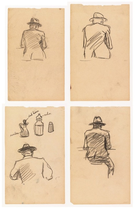 How Edward Hopper Storyboarded 'Nighthawks'... | Art for art's sake... | Scoop.it