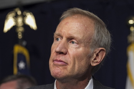 Rauner: Illinois can't help most vulnerable if not competitive - Chicago Sun-Times | Illinois Legislative Affairs | Scoop.it