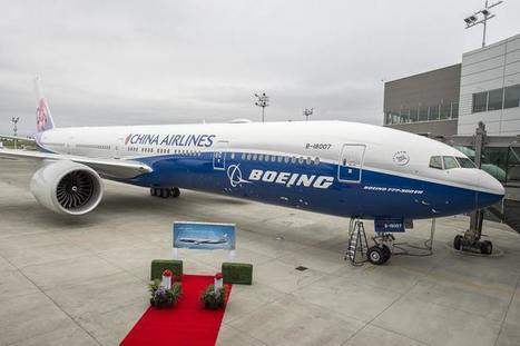 China Airlines fête les 100 ans de Boeing | Aviation & Airliners | Scoop.it