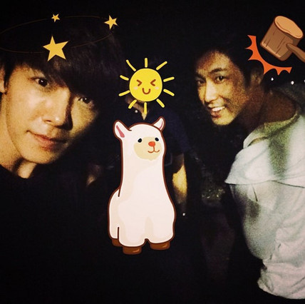 Super Junior Donghae and TVXQ U-Know pictured together - The Korea Herald | tvxq | Scoop.it