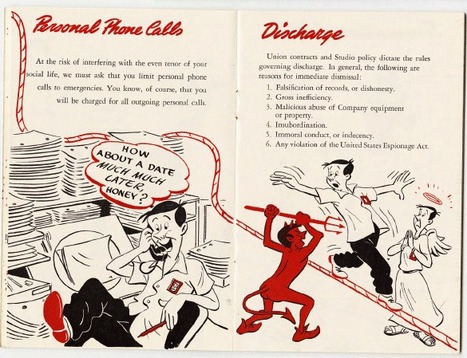 Talk About Curation - The Ropes at Disney: 1943 Walt Disney Employee Handbook | Curation, Social Business and Beyond | Scoop.it
