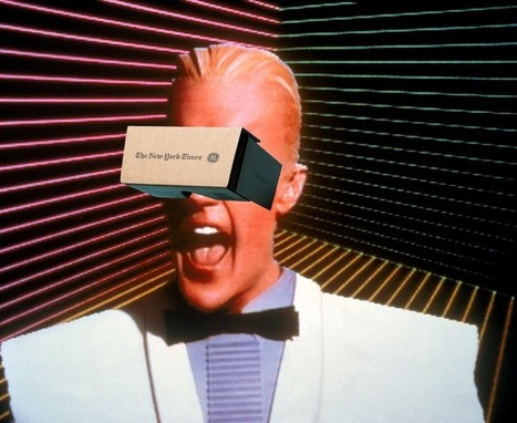 Virtual reality, virtual news | Transmedia: Storytelling for the Digital Age | Scoop.it