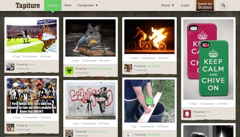 New Visual Content Curation Platform: Tapiture Is Pinterest For Men | Marketing & New Media | Scoop.it