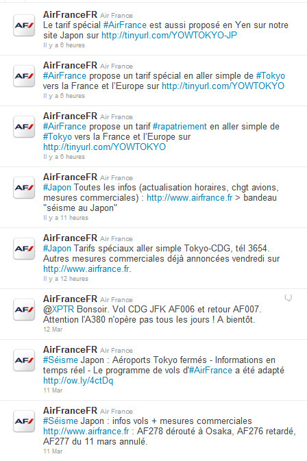 @BeerBergman : Gestion de crise : le cas de Air France / Japon #communicationdecrise | Crisis communication | Scoop.it
