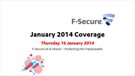 January Coverage (16th) | F-Secure Coverage (UK) | Scoop.it