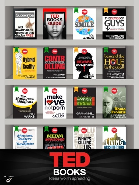 Hands-on with TED Books for iOS: discoverability is good, polish needed | Curtin iPad User Group | Scoop.it