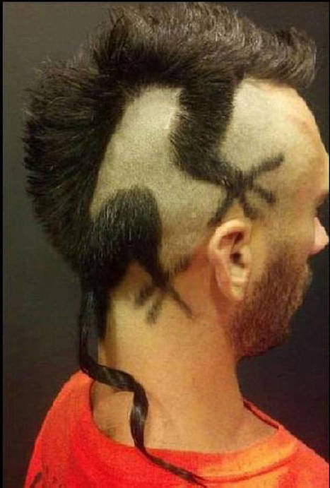 18 Haircuts That Are All Too Much. #11 Why Would You Do That?!   Strange days indeed...   Scoop.it