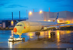 """First flyable A350 XWB """"MSN1"""" structurally complete- Airbus News 