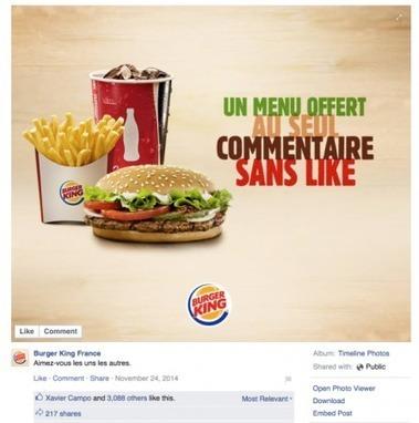 Comment débloquer son reach organique sur Facebook ? Exemples de la Marque U et Burger King | Référencement | Scoop.it