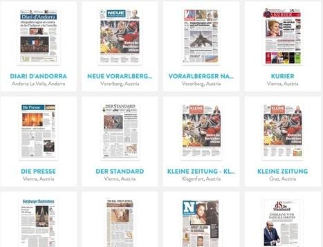 3 ressources en ligne pour suivre l'actualité à travers la presse mondiale | Les outils du Web 2.0 | Scoop.it