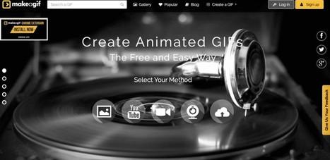 Make A Gif. Créer des Gif animés - Les Outils du Web | La technologie au collège | Scoop.it