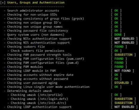 Scan de votre système Unix avec Lynis | Application (Linux) | IT-Connect | Formation, consulting | Scoop.it