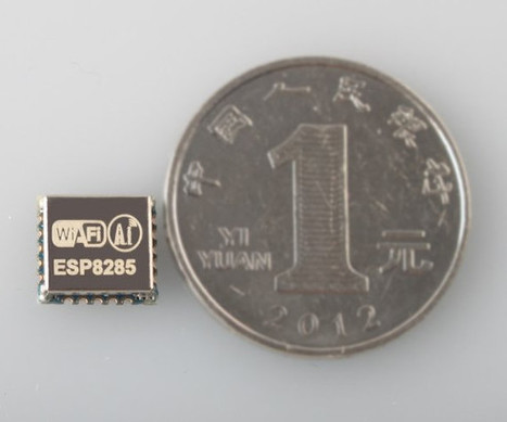 Espressif ESP8285 is just like ESP8266 but with 1MB built-in Flash, and Designed for Wearables | Embedded Systems News | Scoop.it