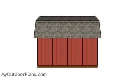 Barn Shed Double Doors Plans | MyOutdoorPlans | Free Woodworking Plans and Projects, DIY Shed, Wooden Playhouse, Pergola, Bbq | Garden Plans | Scoop.it