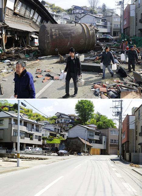 [photos] Le Japon : 3 mois après | Boston.com | Japon : séisme, tsunami & conséquences | Scoop.it