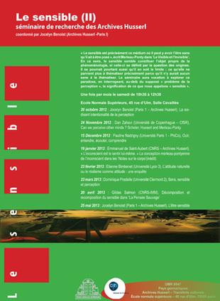Le sensible (II) - La conception merleau-pontyenne de l'inconscient dans les 'Notes sur le corps' (inédit) | philosophie de demain | Scoop.it