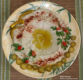 Baba Ghanouj – Roasted Eggplants With Garlic and Tahini Recipe | Arabic and Indian Recipes | Scoop.it