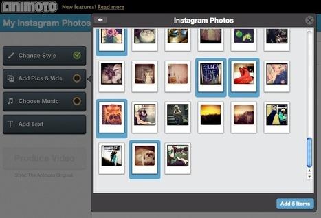 Using Instagram to Create Animoto Videos | Edtech PK-12 | Scoop.it