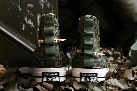 "Concepts x Converse Chuck Taylor All Star ""Zaire Leopard Camo"" • EQUNIU   Street Fashion   Scoop.it"