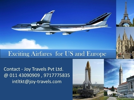 Airfare Packages for US and Europe | International holiday Destinations | Scoop.it