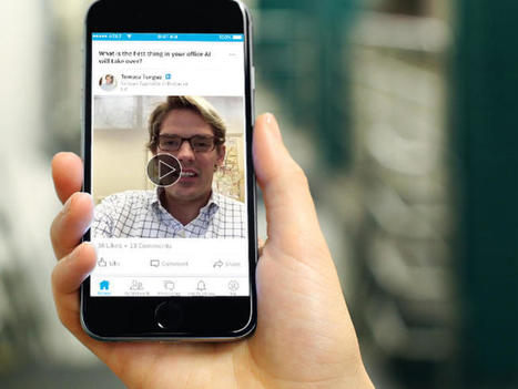 Now you'll be getting videos in your LinkedIn feed, too | ZDNet | All About LinkedIn | Scoop.it
