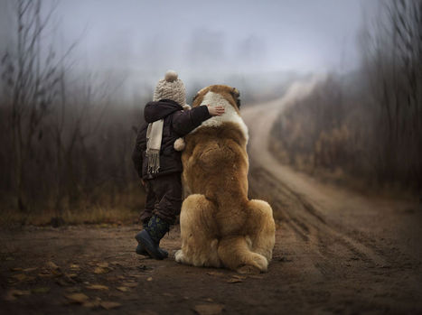 Russian Mother Takes Magical Pictures of Her Two Kids With Animals On Her Farm | Photography Today | Scoop.it
