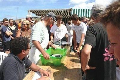 39 équipages ont participé à une partie de pêche , Saint-Lunaire 05/08/2013 - ouest-france.fr | Saint-Lunaire Evènements | Scoop.it