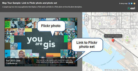 Displaying multiple photos at a single location in a Map Tour | ArcGIS Blog | Geoprocessing | Scoop.it