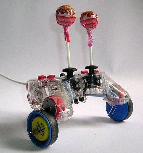 Lollybot is a $10 Robot Made with a USB Gamepad and Chupa Chups | Embedded Systems News | Scoop.it