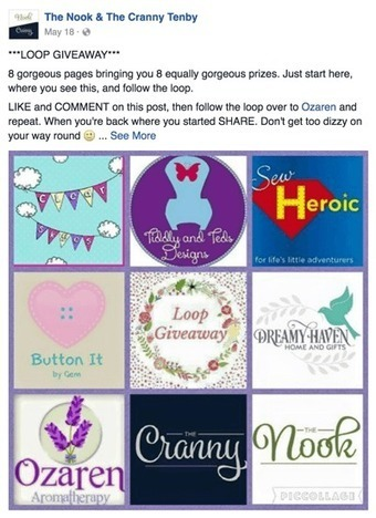 How to Easily Create a Facebook Loop Giveaway  | MarketingHits | Scoop.it