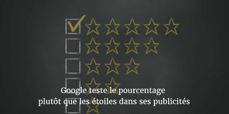 Google teste le pourcentage plutôt que les étoiles dans ses publicités - Blog freelance | Entrepreneurs du Web | Scoop.it
