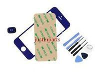 Blue iPhone 5 Front Screen Glass Lens /Digitizer Cover+Home Button+Tape+Tools | many phones | Scoop.it