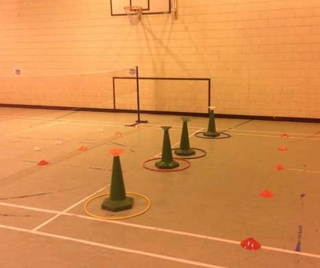 Witch Hat Target Cones - Badminton Update - PE4Learning | Physical Education | Scoop.it