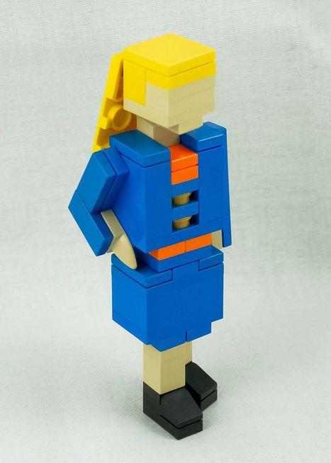 Elle crée un kit Lego en guise de CV | Mentorat et Ressources Humaines | Scoop.it