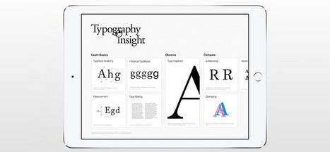 Typography Insight. La app para aprender tipografía en el iPad | Mundo diseño | Scoop.it