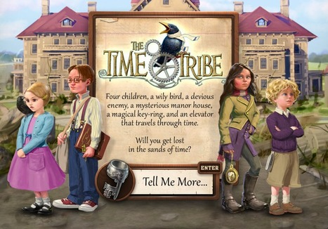 The Time Tribe - Transmedia Adventure Game for Kids | Transmedia Landscapes | Scoop.it