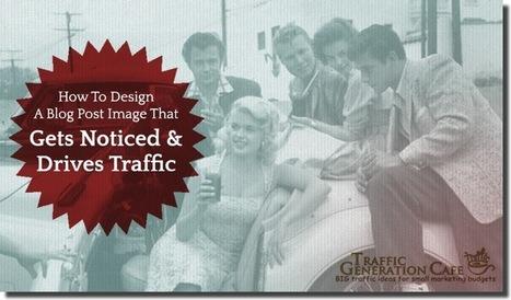 How To Create an Original Blog Post Image Tutorial | Social Media Content | Scoop.it