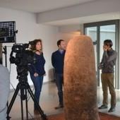 Les statues-menhirs du musée Fenaille face aux caméras d'Arte - MyRodez - Blog Culture Tourisme | Mégalithismes | Scoop.it