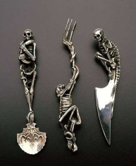 Awesomely Weird Cutlery Designs (23 Pics) | Strange days indeed... | Scoop.it