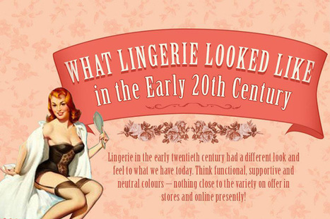 Vintage Lingerie Through the 20th Century | Hosiery & Lingerie | Scoop.it