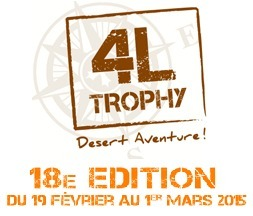"""Le Groupe SFC participe au 4L Trophy 2015 avec les """"Protozoaires du désert""""   Cegid Profession Comptable   Scoop.it"""