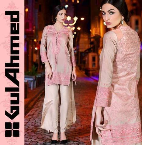 Gul Ahmad premium Embroidered Chiffon Eid Festive Dress Collection For Ladies | Top Teen Style | stylish lawn dresses | Scoop.it