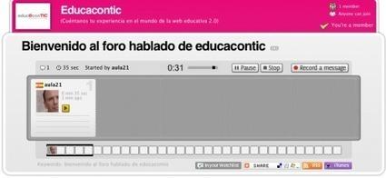 Foros hablados con Voxopop | | Educación (métodos y herramientas) | Scoop.it