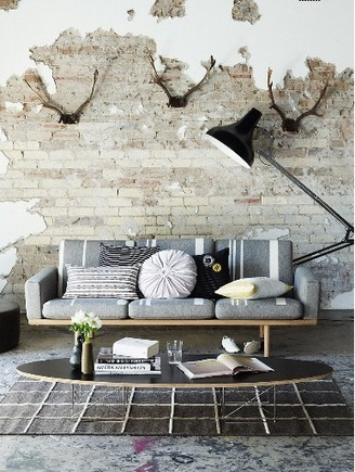 Creative Grunge Interior Walls   Home Adore   Raw and Real Interior Design   Scoop.it