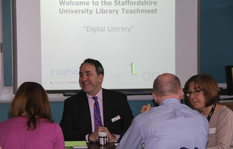PREVIEW Presentations Nov 2014 - Staffordshire University Library Teachmeets - Library Resources at Staffordshire University | Digital Literacy | Scoop.it