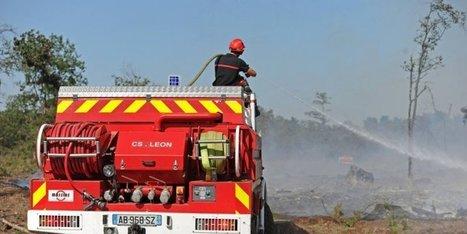 En images : 18 hectares partis en fumée dans les Landes, le feu maîtrisé | BABinfo Pays Basque | Scoop.it