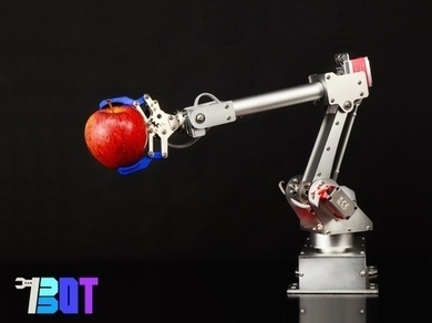 7Bot: a $350 Robotic Arm that can See, Think and Learn!   thewheelworld   Scoop.it