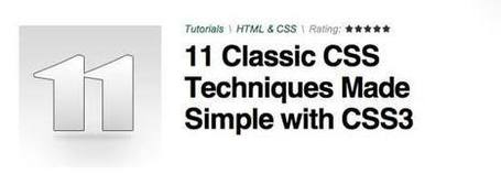 Resources for Useful CSS3 Tutorials | responsive design II | Scoop.it